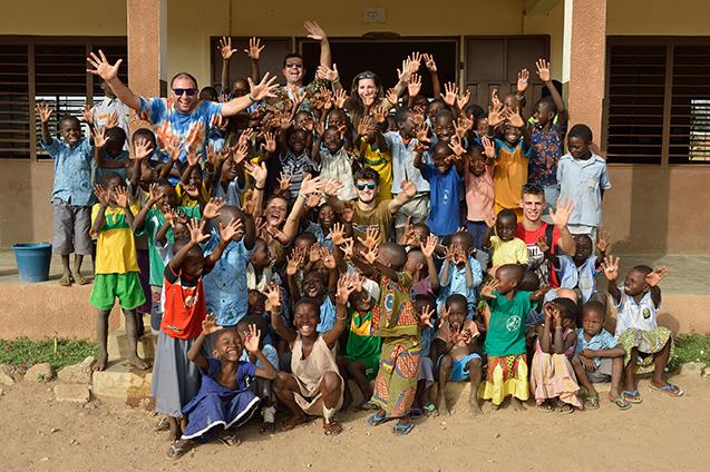 Nella missione di Cotiakou in Benin