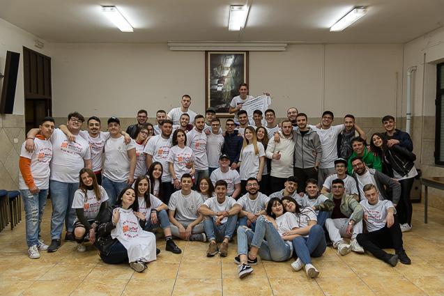 """23 marzo 2019: a Caivano con """"I Giovani della Speranza"""""""